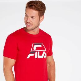 FILA TREY Camiseta Roja Hombre