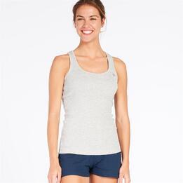 Camiseta Tirantes UP BASIC Gris Mujer