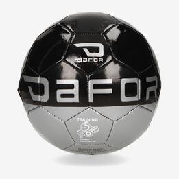Balón Fútbol DAFOR Negro Gris