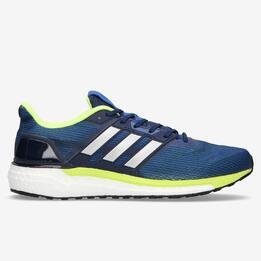 Zapatillas Running Hombre Adidas Boost Marino Pistacho