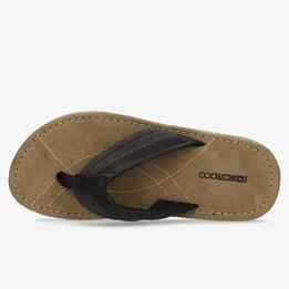 Sandalias Dedo Negras Hombre Nicoboco