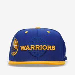 Gorra Adidas NBA Warriors Azul Amarillo