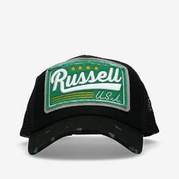 RUSSELL ATHLETIC Gorra Negra