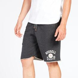 RUSSELL ATHLETIC Pantalón Corto Gris Hombre