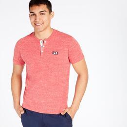 Camiseta Manga Corta FILA Rojo Hombre