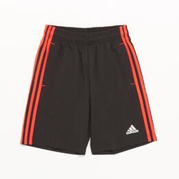 Adidas Pantalón Corto Negro Niño (10-16)