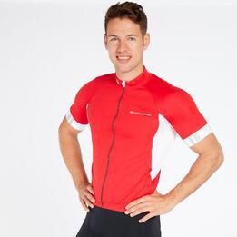 Maillot Ciclismo Rojo Hombre Endura