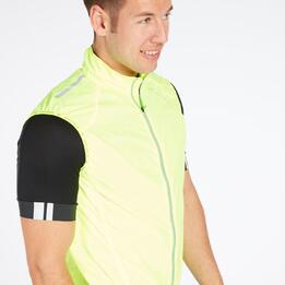 Chaleco Ciclismo Hombre Amarillo Endura