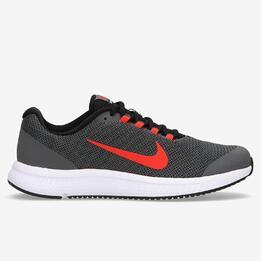 Zapatillas Running Nike Runallday Grises Hombre