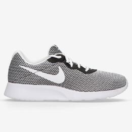 Zapatillas Nike Tanjun Hombre Gris Blanco