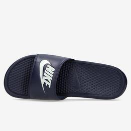 Chanclas Nike Piscina Azul Marino Hombre