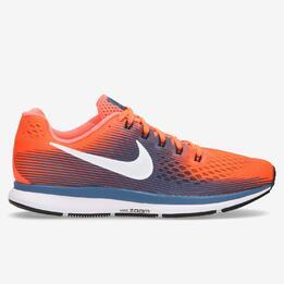 Zapatillas Nike Pegasus 34 Naranja Hombre