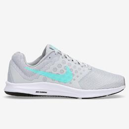 NIKE DOWNSHIFTER 7 Zapatillas Running Grises Mujer