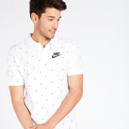 Polo Nike Blanco Hombre