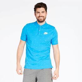 Polo Topos Nike Azul Hombre