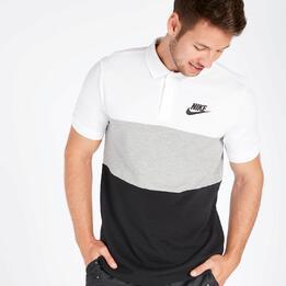 Polo Manga Corta Nike Tricolor