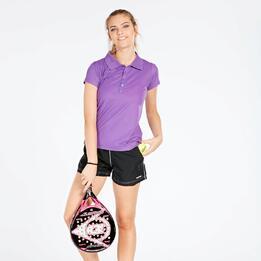 Polo Tenis Morado Mujer Proton