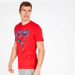 Camiseta Hombre Puma Roja