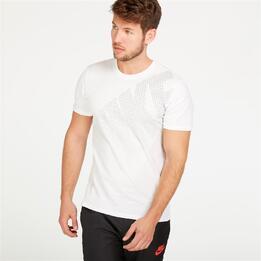 NIKE FUTURA Camiseta Blanco Hombre