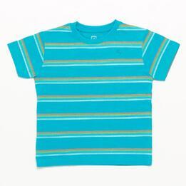 Camiseta UP BASIC Turquesa niño (2-8)