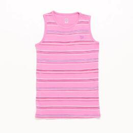 Camiseta Sin Mangas Rosa Niña Up