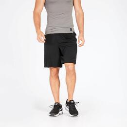 Pantalón Corto Running Negro Nike