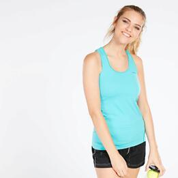 Camiseta Tirantes Turquesa Mujer Proton
