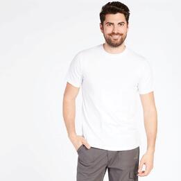 Camiseta Básica Blanca Hombre Boriken