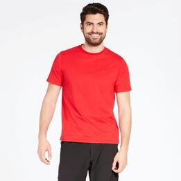 Camiseta Básica Roja Hombre Boriken
