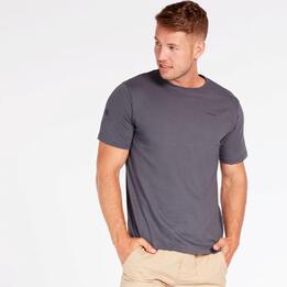 Camiseta Básica Gris Hombre Boriken