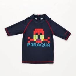 Camiseta Natación Niño Paraqua Marino