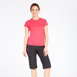 Camiseta Roja Boriken Mujer