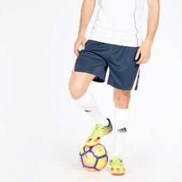 Pantalón Fútbol Marino Blanco Hombre Dafor