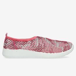 Zapatillas Malla UP FRESH Rosa Mujer