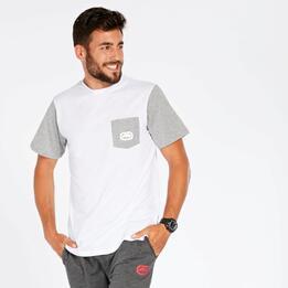 Camiseta Hombre Ecko Greene Blanco Gris