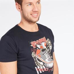 Camiseta TRUNK & ROOTS Marino Hombre
