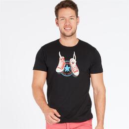 Camiseta TRUNK & ROOTS Negra Hombre