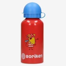 Botella Aluminio Roja Boriken 0,45 L