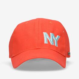 Gorra Silver Coral Azul Mujer