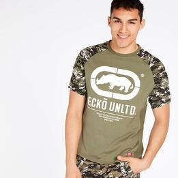 Camiseta Kaki Ecko Hombre