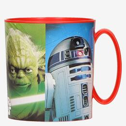 Taza STAR WARS 350ml Microondas Rojo