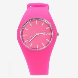 Reloj Silver Fucsia Mujer