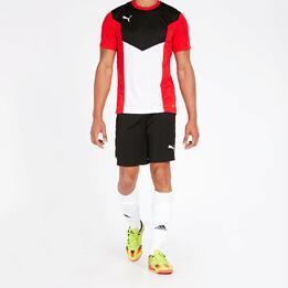 Pantalón Fútbol Puma Negro Hombre