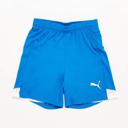 Pantalón Fútbol Puma Azul