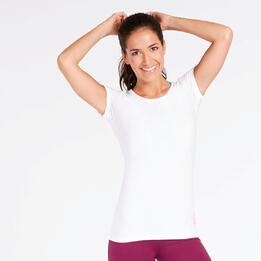 Camiseta Básica Blanca Mujer Ilico