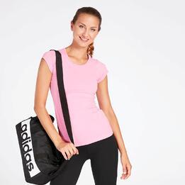 Camiseta Básica Rosa Mujer Ilico