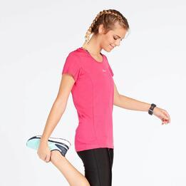 Camiseta Running Fucsia Mujer Ipso