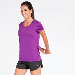 Camiseta Running Morado Mujer Ipso