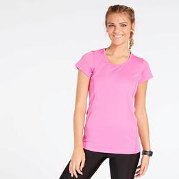 Camiseta Running Rosa Mujer Ipso