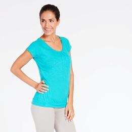 Camiseta Turquesa Mujer Ilico Basic
